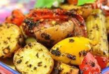 moroccan potato casserole