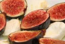 mozzarella and fresh fig salad