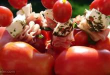 mozzarella and tomato appetizer