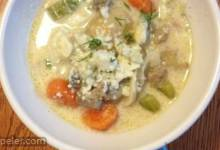 Mushroom and Gorgonzola Soup