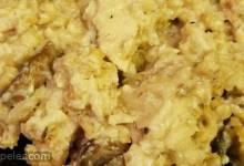 Mushroom Chicken Barley Risotto