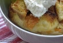 My Peach Bread Pudding