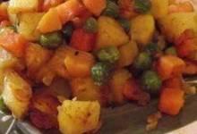ndian Carrots, Peas and Potatoes