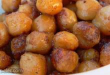 ndian-Spiced Roasted Chickpeas