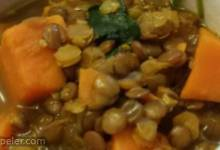 ndian Sweet Potato and Lentil Soup