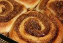 ninety minute cinnamon rolls