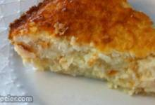 No Crust Coconut Pie