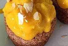 no-egg mango cupcakes