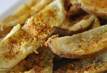 no-fry spicy potato skins