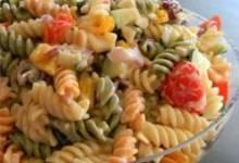No Mayo Easy Pasta Salad
