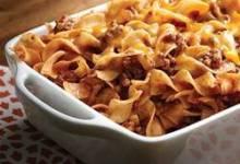 no yolks® beef noodle casserole