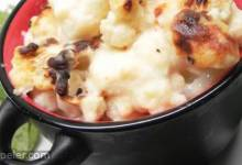 Northern talian Cauliflower Gratin