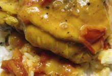 nstant pot® curried chicken thighs