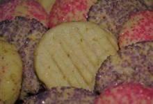 nutty crispy sugar cookies