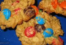 oatmeal mm cookies