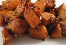 Onion Roasted Sweet Potatoes