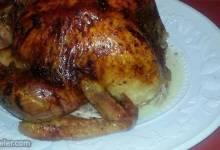 orange and maple glazed turkey