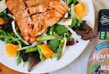 orange balsamic glazed salmon