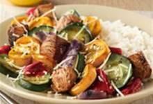 Oven-Grilled Chicken and Vegetables