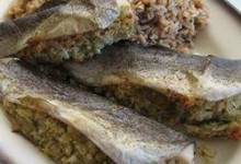 oven roasted trout with lemon dill stuffing