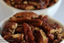 Paleo Candied Hot Roasted Pecan Bits