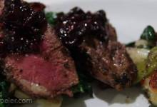 Pan-Seared Duck Breast with Blueberry Sauce