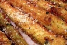 Parmesan Fried Zucchini