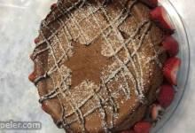 Passover Chocolate Cheesecake