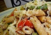 Pasta Primavera with Smoked Gouda