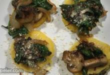 Paula's Polenta with Mushroom Topping