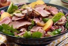 Peachy Korean BBQ Salad