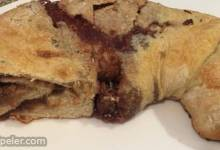 Peanut Butter and Jelly Stromboli