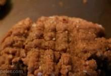 Peanut Butter Bliss Cookies - Vegan, Gluten-Free, No-Sugar-Added