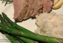 Pear Braised Pork Tenderloin