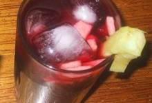 Peruvian Chicha Morada Drink