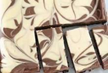 PHLADELPHA Chocolate-Vanilla Swirl Cheesecake