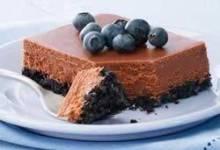PHLADELPHA Double-Chocolate Cheesecake