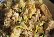 pineapple fried quinoa
