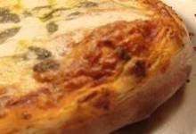 pizza sauce and dough