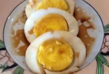 polished eggs