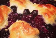 pop's blackberry cobbler
