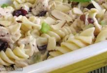 Poppy Seed Chicken Pasta Salad