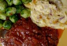 Pork Steak with Paprika Sauce