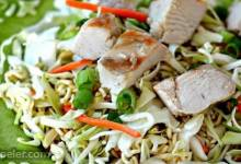 Portable Chinese Chicken Salad