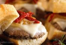 Provolone Meatball Sliders
