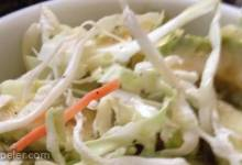 Puerto Rican Cabbage, Avocado, and Carrot Salad