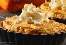 Pumpkin Pie No-Bake Cheesecake