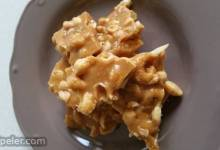 Quick and Easy Peanut Brittle