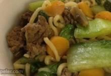 Quick Asian Beef Noodle Soup