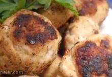 Quick Bean and Turkey talian Meatballs